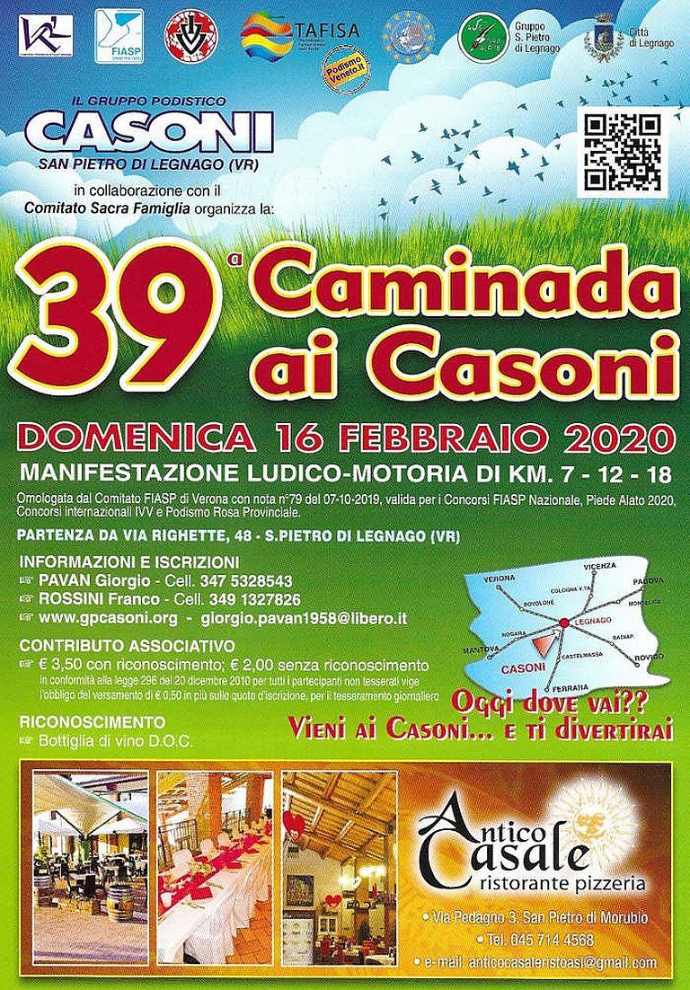San Pietro Di Legnago Verona 39° caminada ai casoni